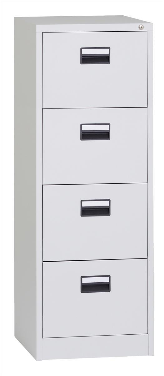 Image for &Tri Cont 4 Drawer FCB Grey X4DL
