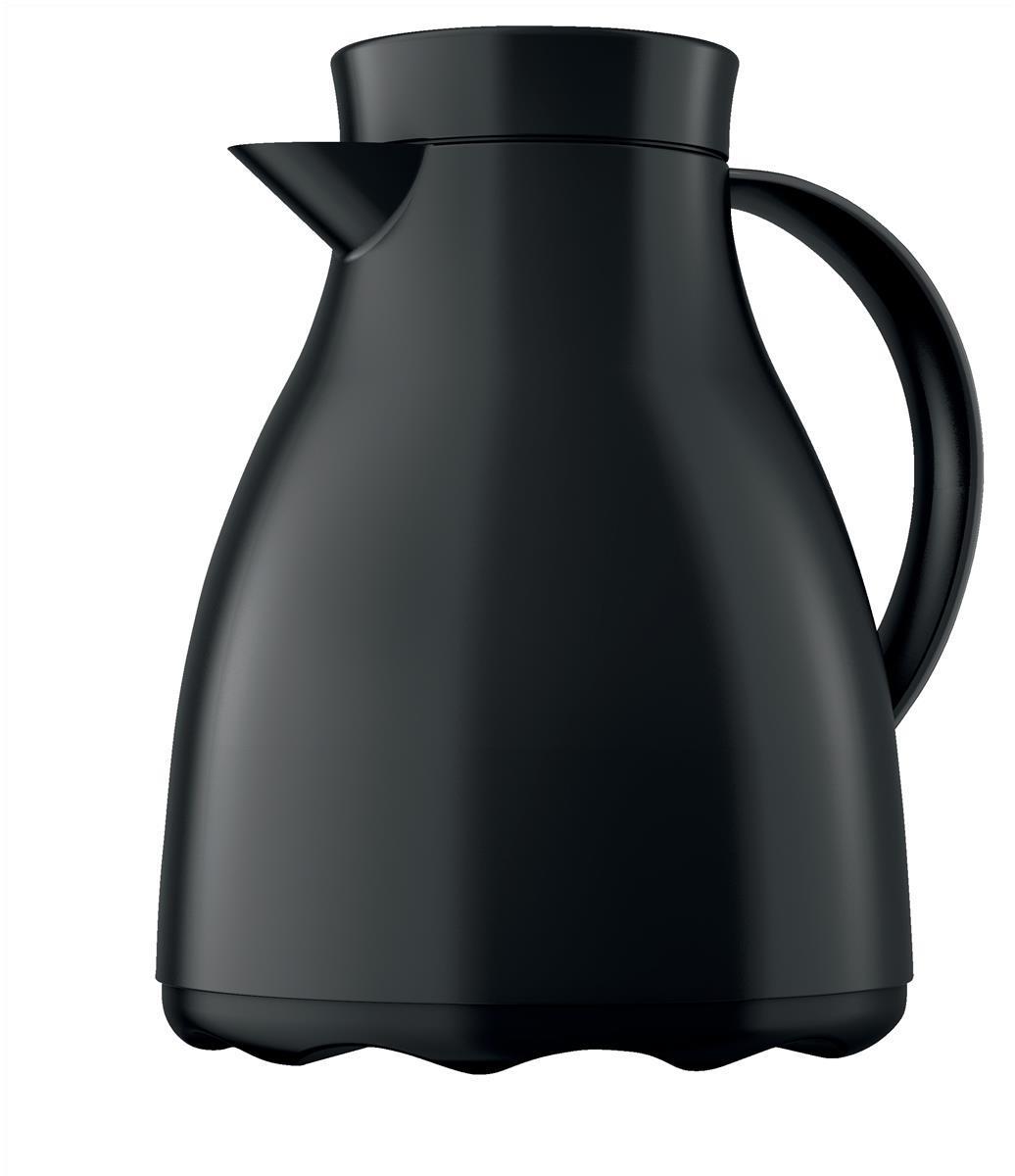 Emsa Easy Clean 1litre Vacuum Jug Black Code 507594