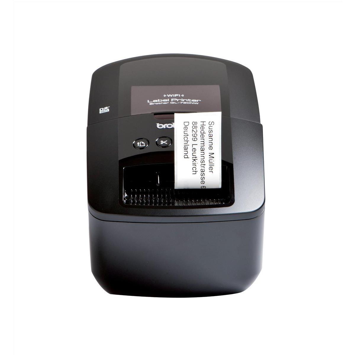 Brother Labelmaker Desktop PC Ethernet Wireless DK max. 62mm Ref QL720NWZU1