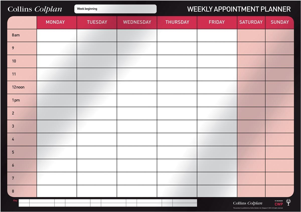 Collins Weekly Planner CWP