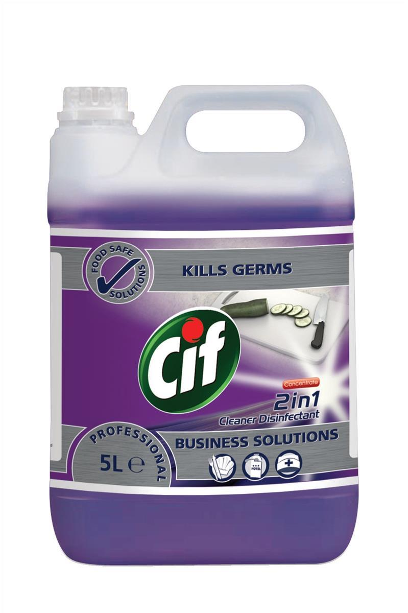 Cif 2 in 1 Disinfectant 5ltr Code 7517738