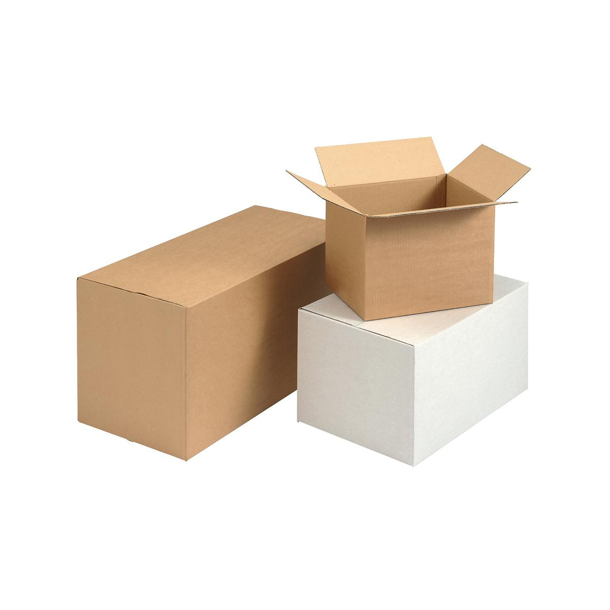 Packing Box W635xD305xH330mm Buff [Pack 10]