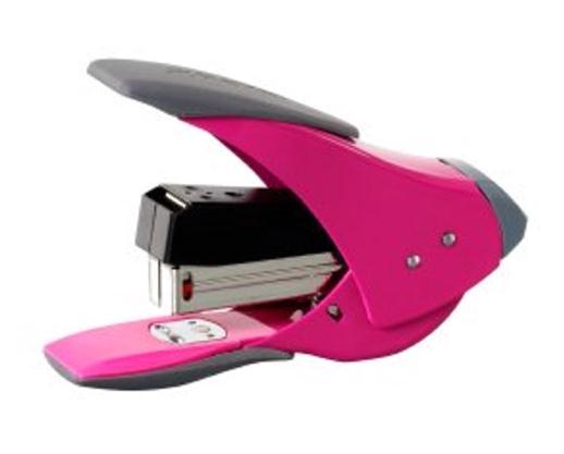 Rexel Easy Touch Quarter Strip Stapler Pink Code 2102632