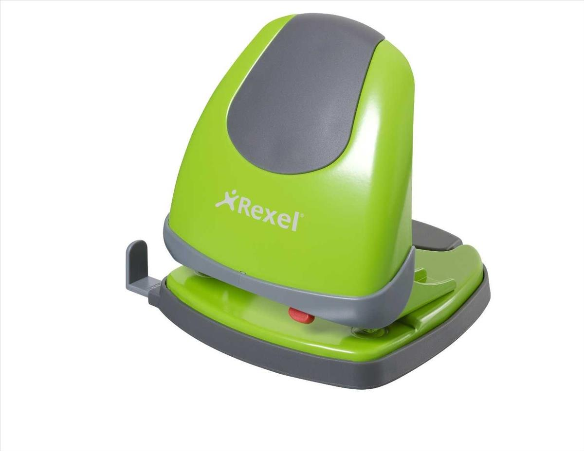 Rexel Easy Touch 230 2-Hole Punch Green Code 2102643
