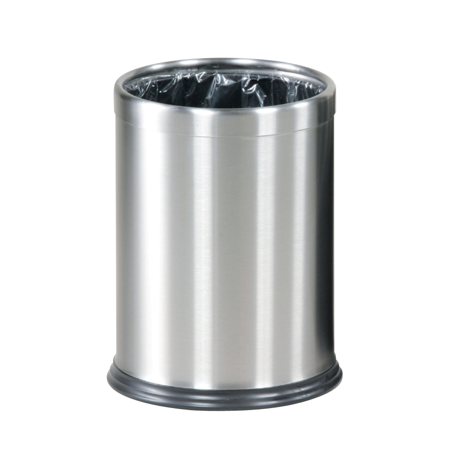 Rubbermaid Bin Hide A Bag 13.2 Litres 241x318mm Stainless Steel Ref FGWHB14SS