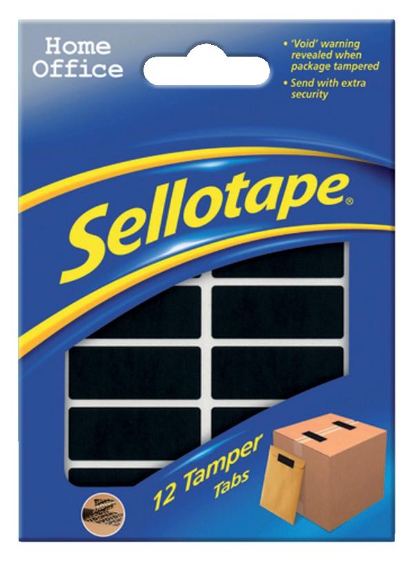 Sellotape Tamper Tabs 1463628
