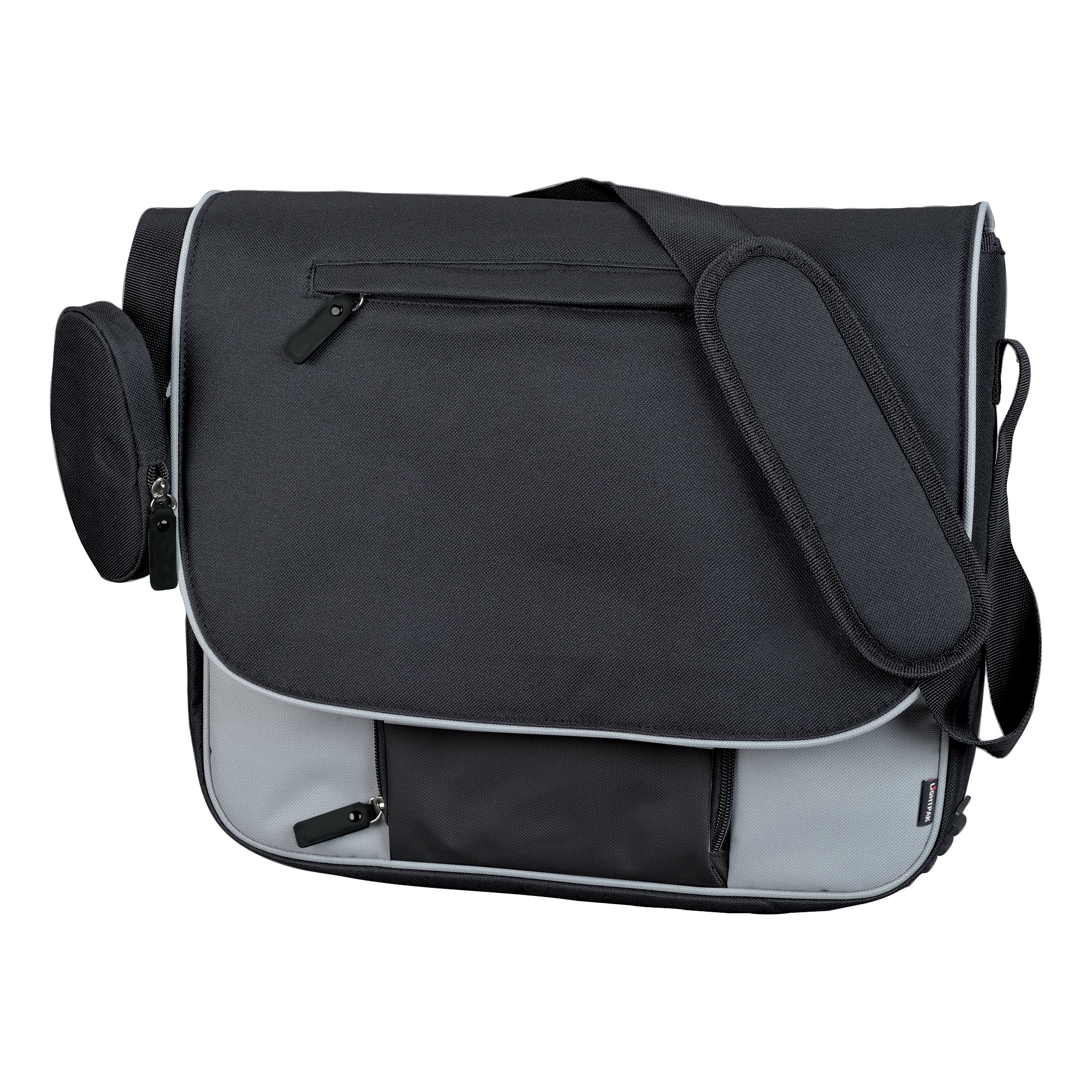 Lightpak Tron Messenger Bag Grey Ref 46113