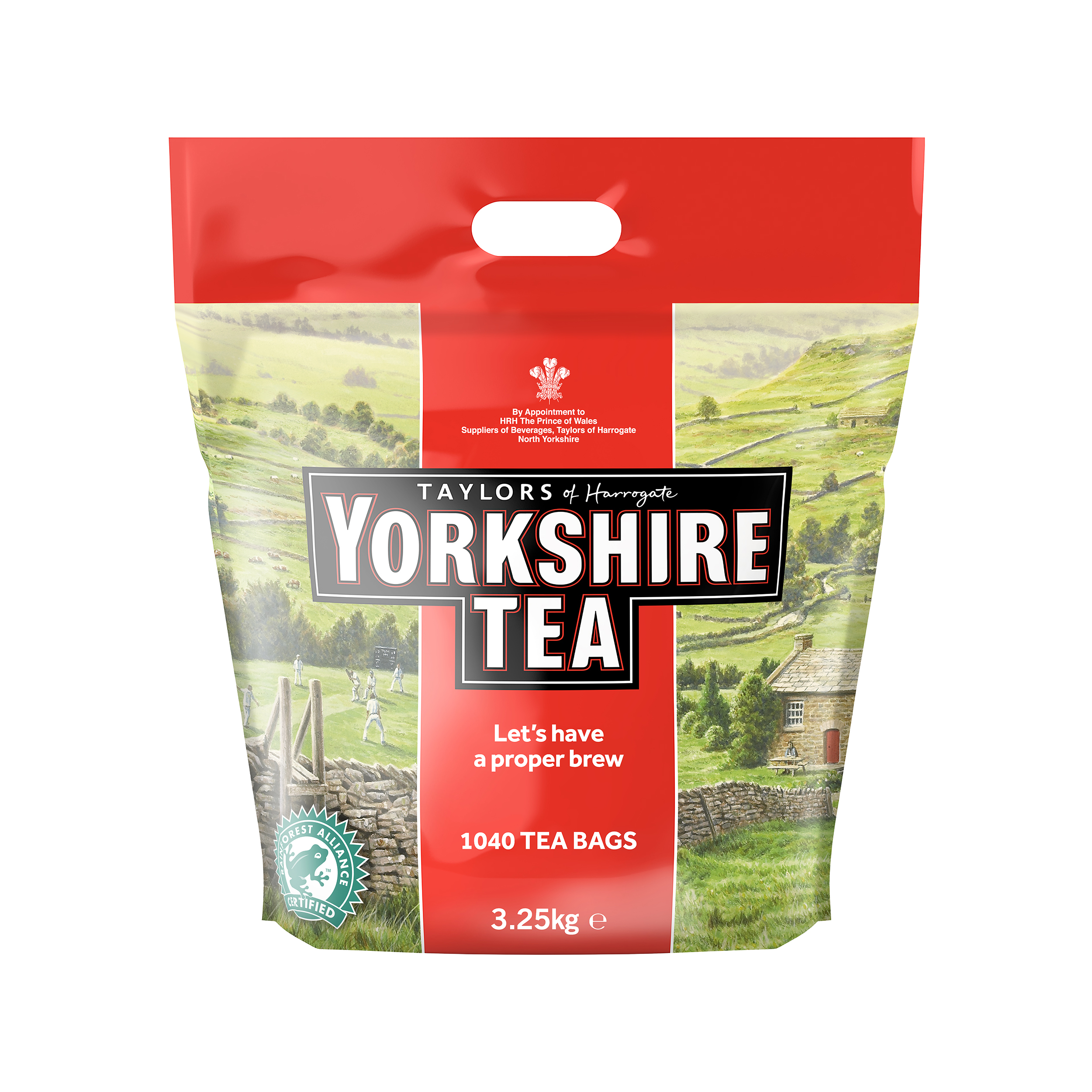 Yorkshire Tea Bags Ref 0403170 [Pack 1040]