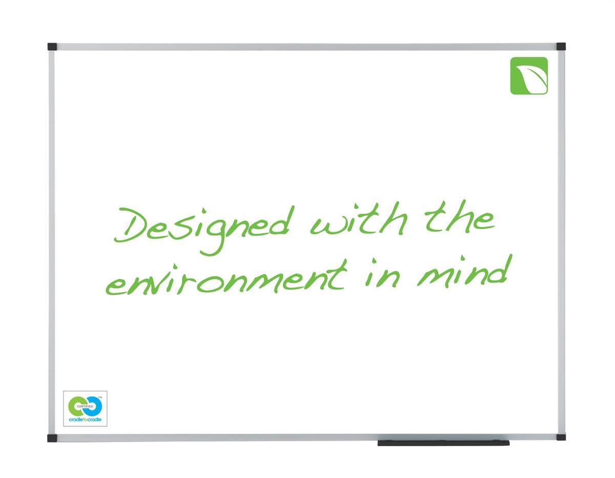 Nobo EcoClassic Magnetic Enamel Whiteboard 900x600mm Code 1903756
