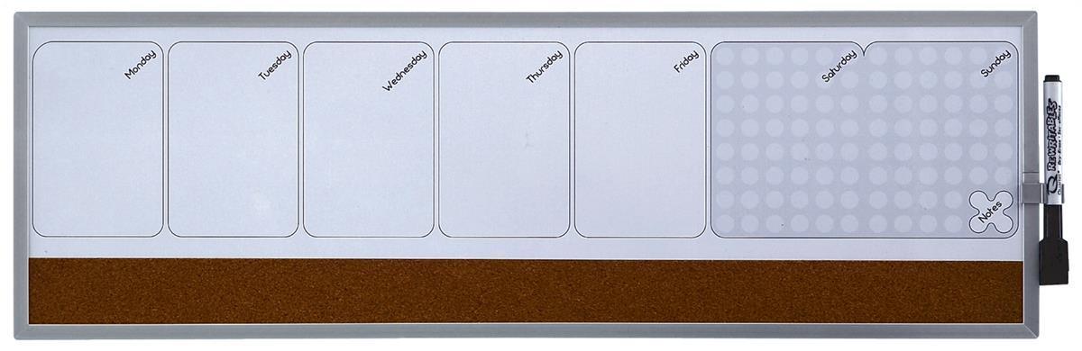Quartet Mag Weekly Organiser 585x190mm