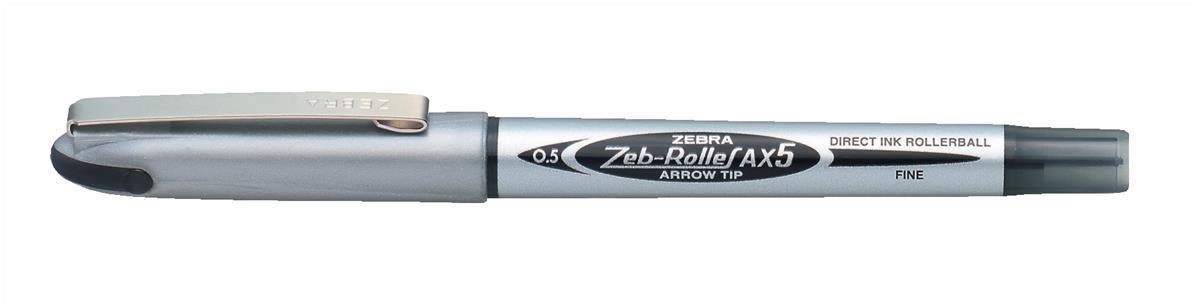 Image for Zebra AX5 Liq Ink Rball Blk  15981Z