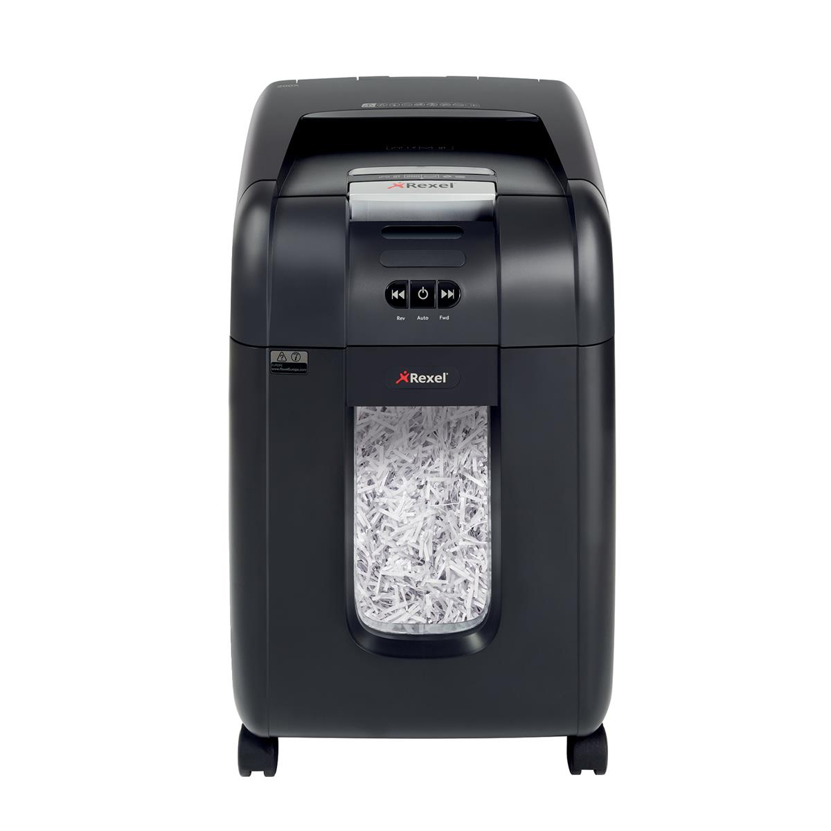 Rexel AutoPlus 200X Shredder Cross-cut P-4 Ref 2103175