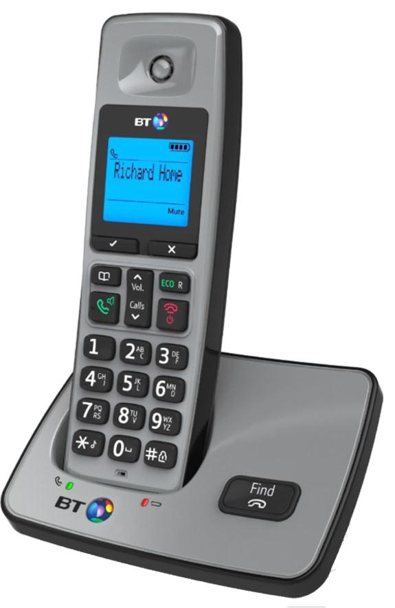 BT 2000 Single Dect Telephone 66255