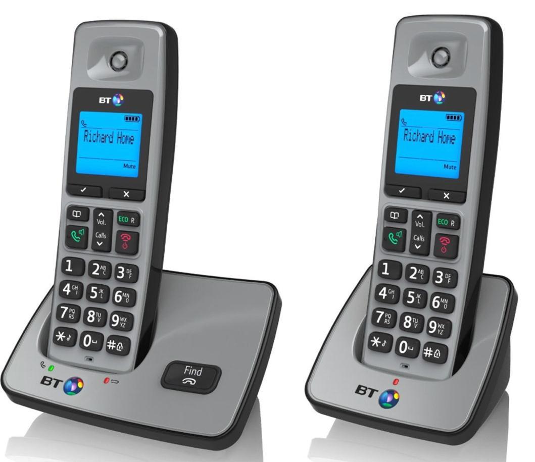 BT 2000 Twin Dect Phones 66256