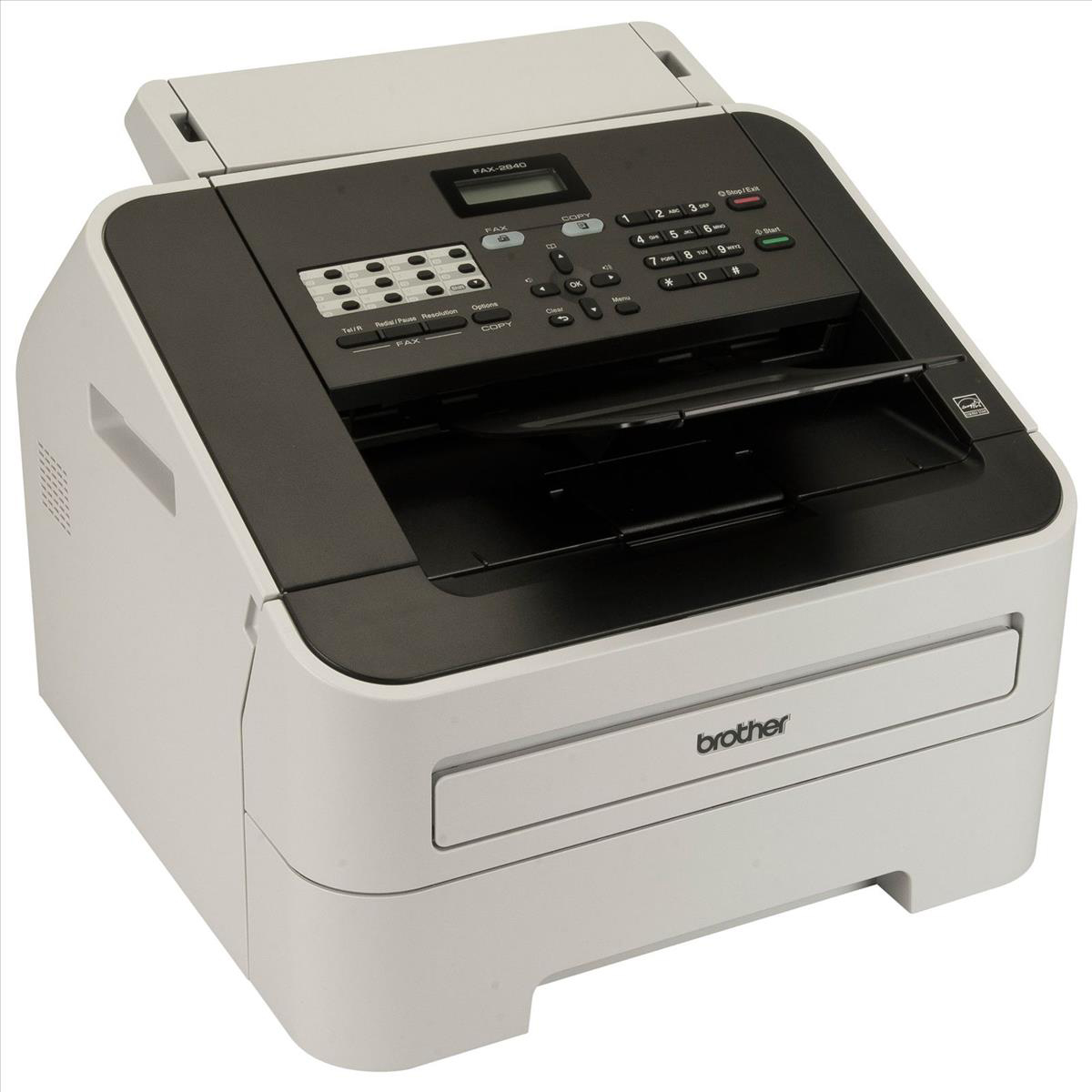 Image for Brother FAX2840 Mono Laser Fax Machine Ref FAX2840ZU1