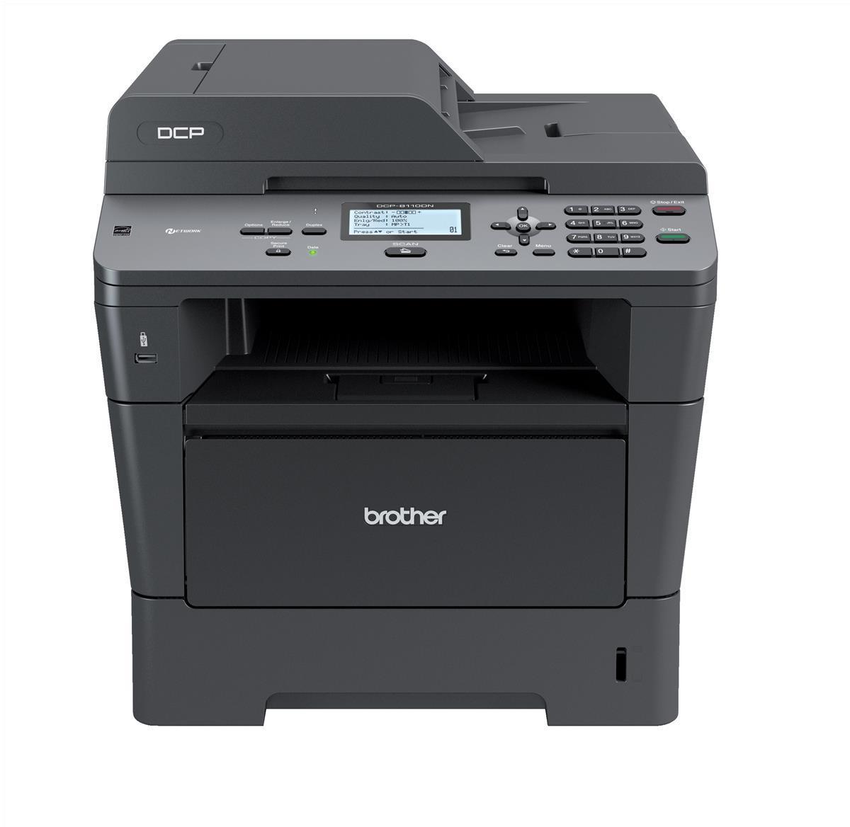 Brother DCP-8110DN Mono Laser Printer