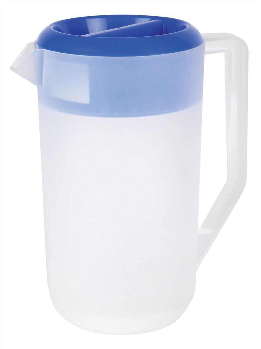 PP Frosted jug with Lid 2.2Ltr Code 8529PP