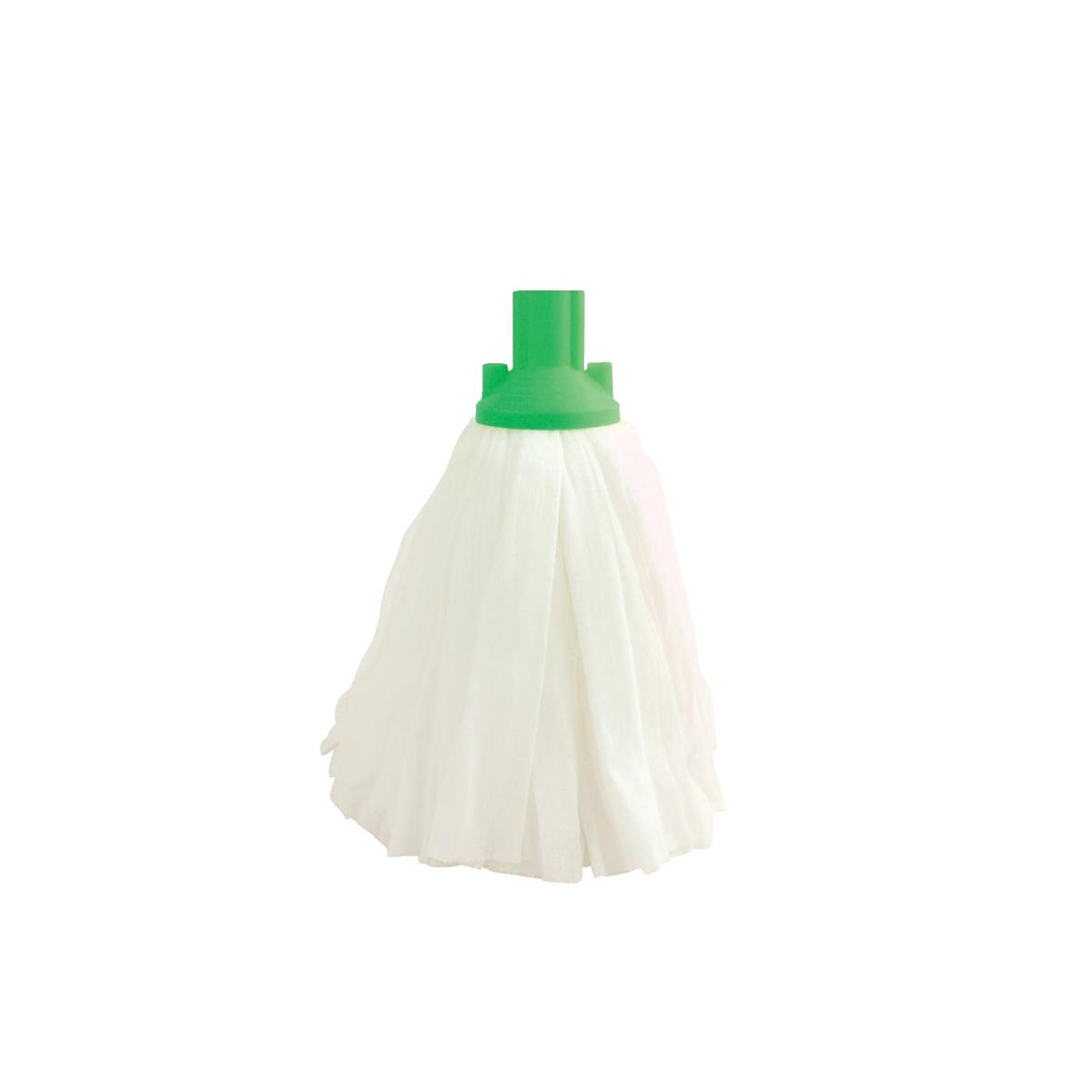 Image for Bentley Disposable Socket Mop Head 120g Green Ref SPC/DSM120/G