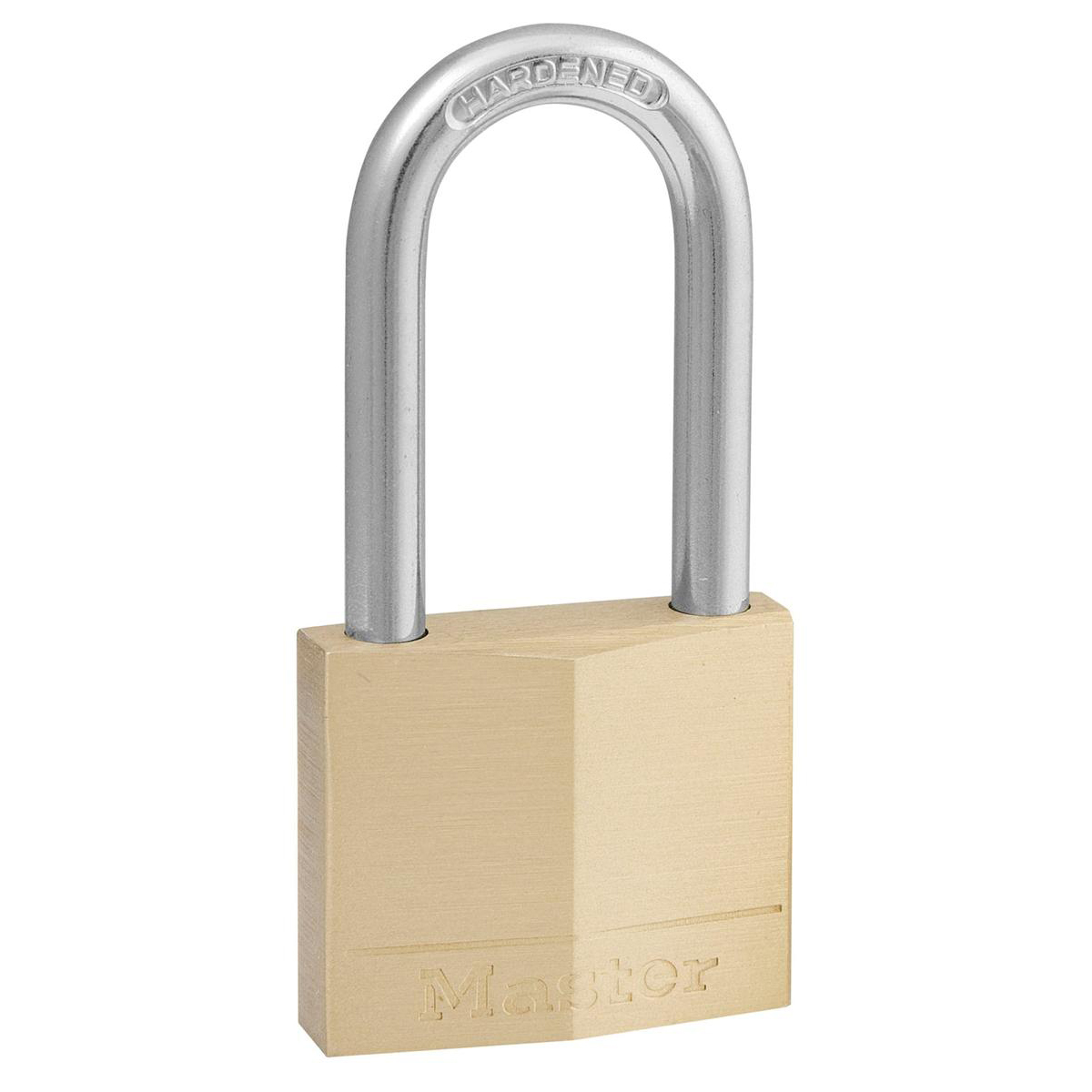 Image for Masterlock Padlock Brass Long Shackle 40mm Ref 140DLH (1)