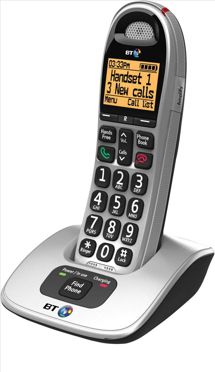 BT 4000 Single Handset DECT Telephone Ref 69264
