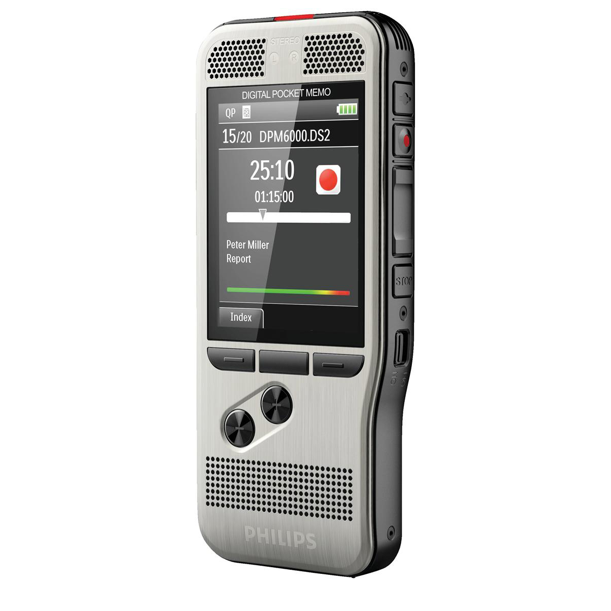 Image for Philips Digital Memo Recorder DPM6000