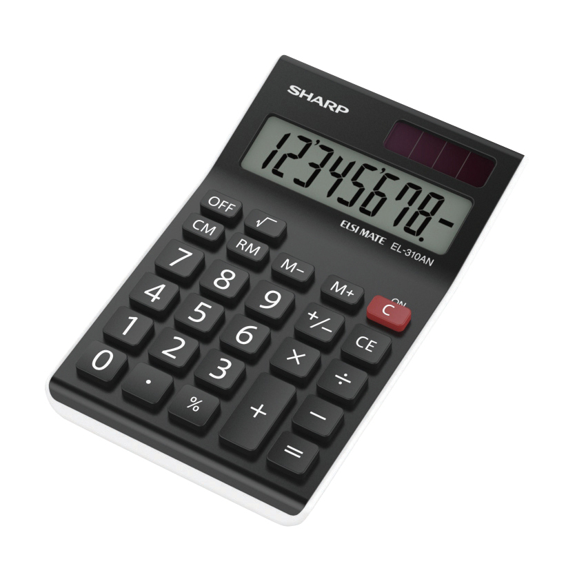 Sharp EL310ANWH Calculator Desktop Ref EL310ANWH