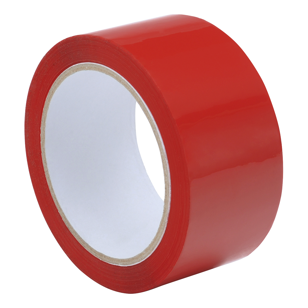 Tape Polypropylene 48mmx66m Red [Pack 6]