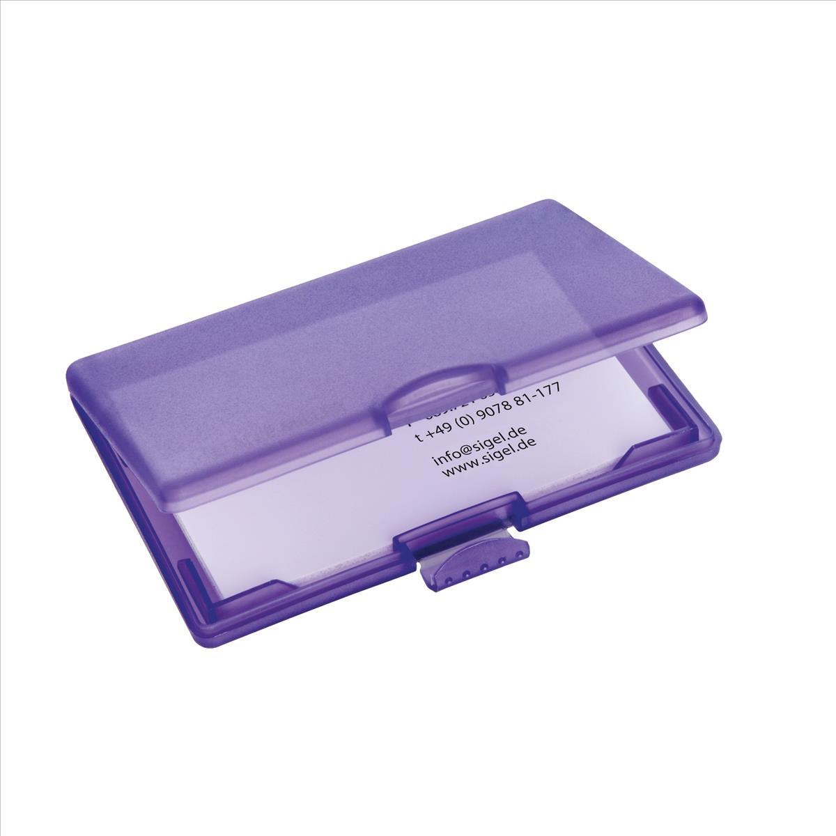 Sigel Coolori Violet Card Case VZ334