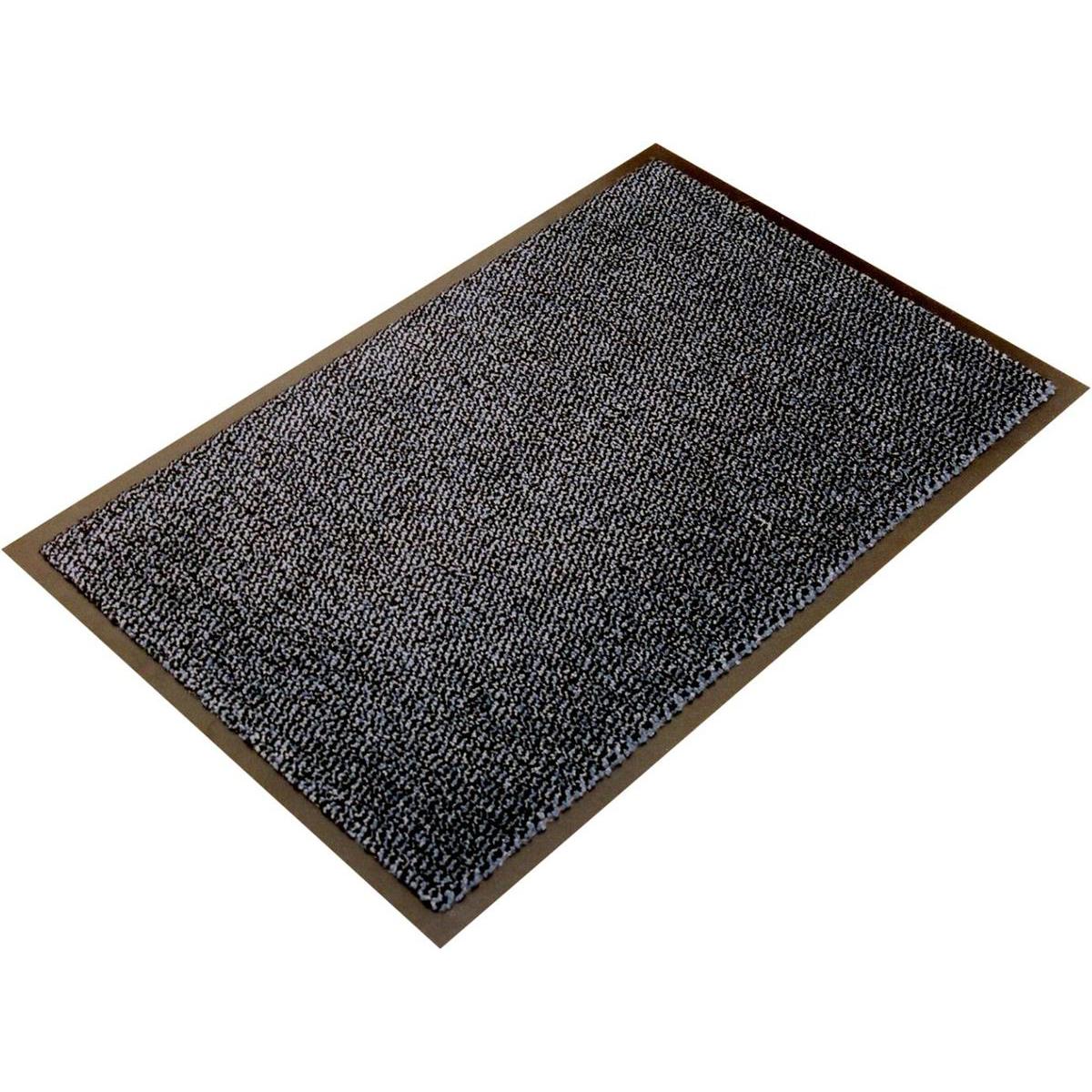 Doortex Ultimat Entrance Mat Indoor Use Nylon Monofilaments 900x3000mm Grey Ref FC490300ULTGR