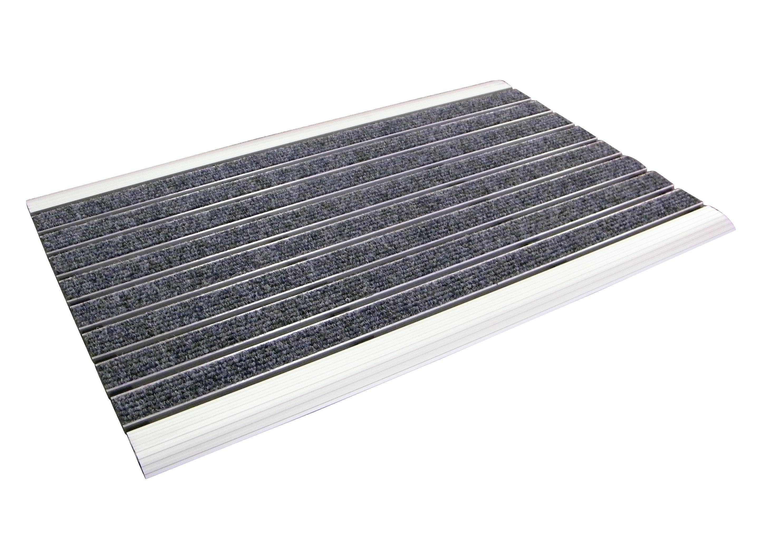 Doortex Alumat Aluminium Framed Door Mat For Indoor Use 390x600mm