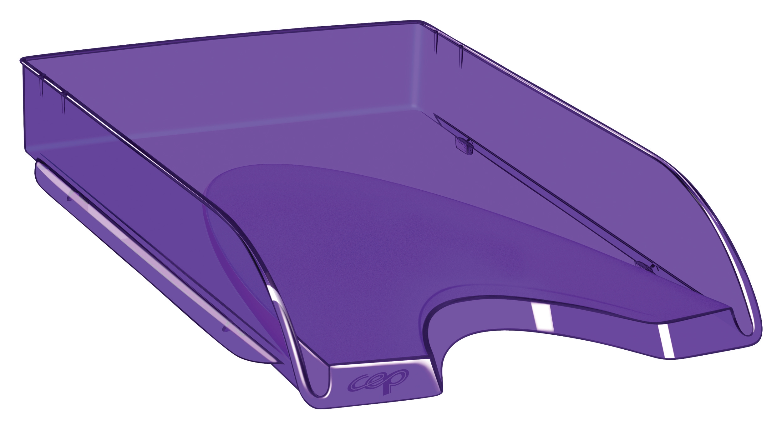CepPro Happy Letter Tray Purple