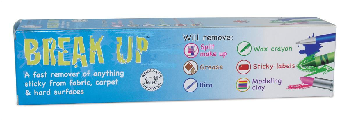 Break Up Sticky Stuff Remover Pack 4 08162