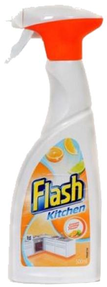 Flash Spray Kitchen Degreasing 500ml