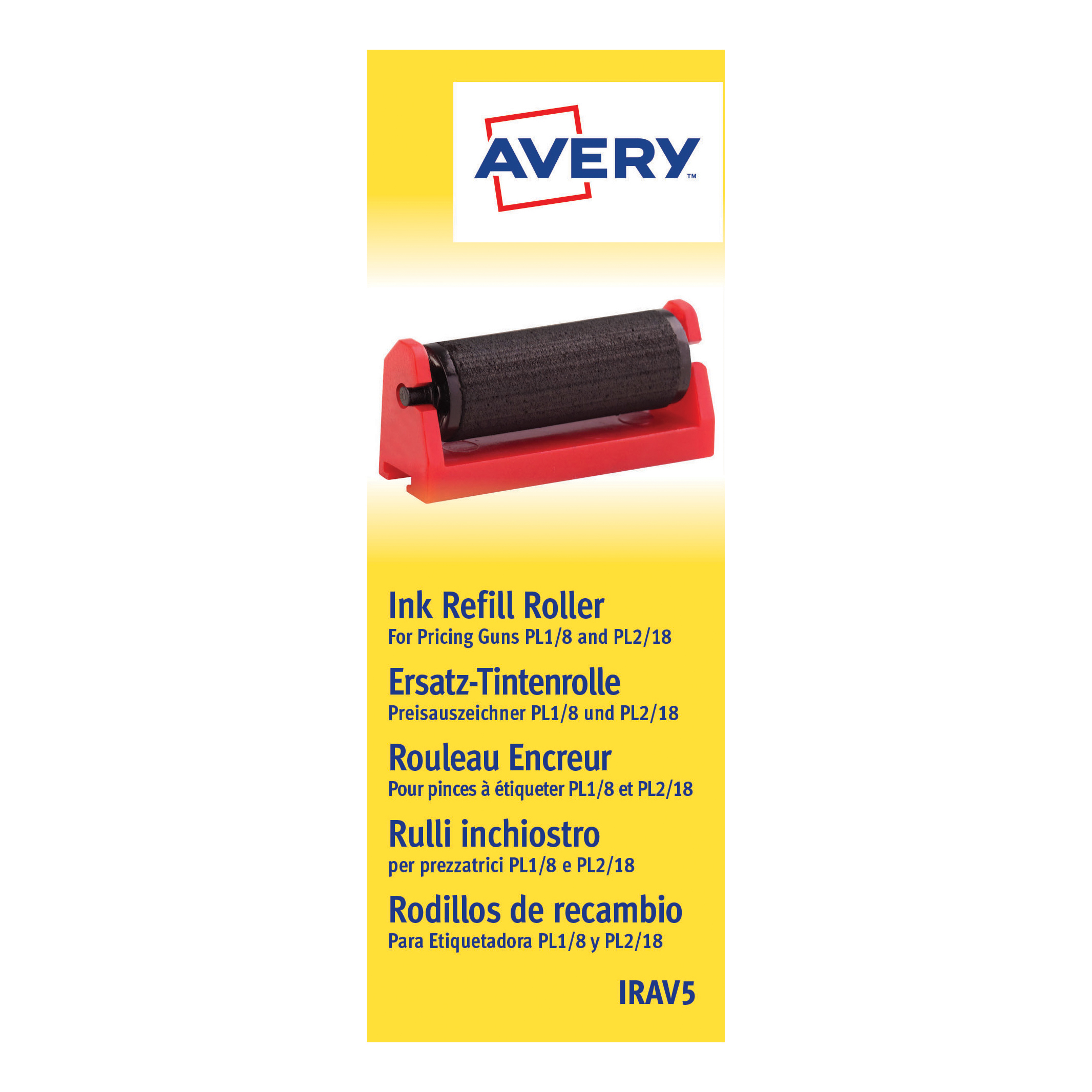 Image for Avery Pricing Gun Ink Refill Ref IRAV5 [Pack 5]