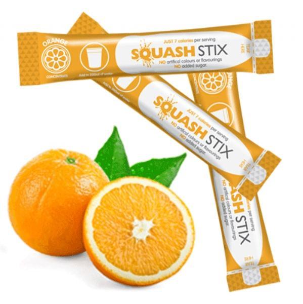 Orange Squash Stix Pk200