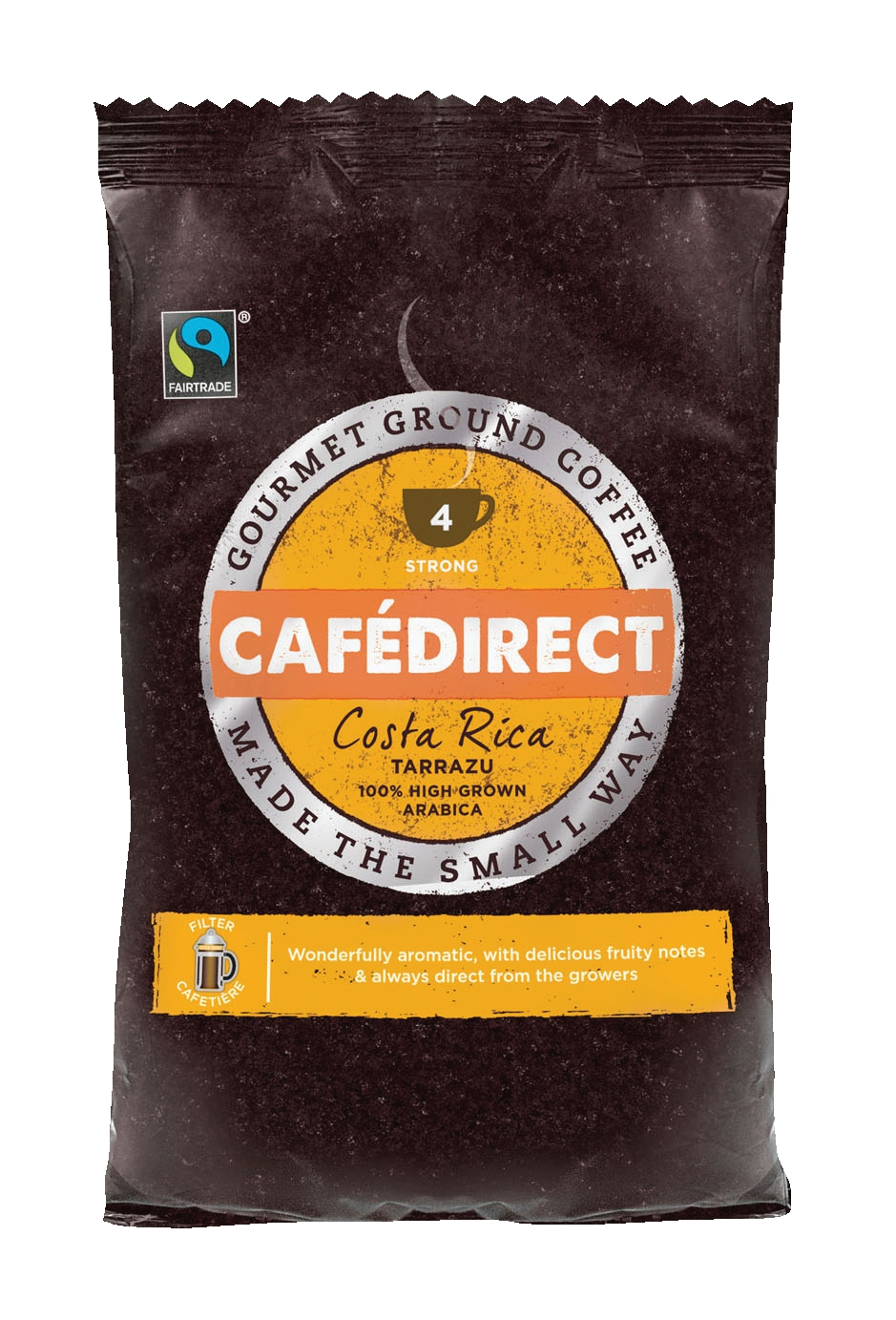 Cafe Direct Tarrazu Costa Rican Filter Coffee 60g Sachet Pack 45
