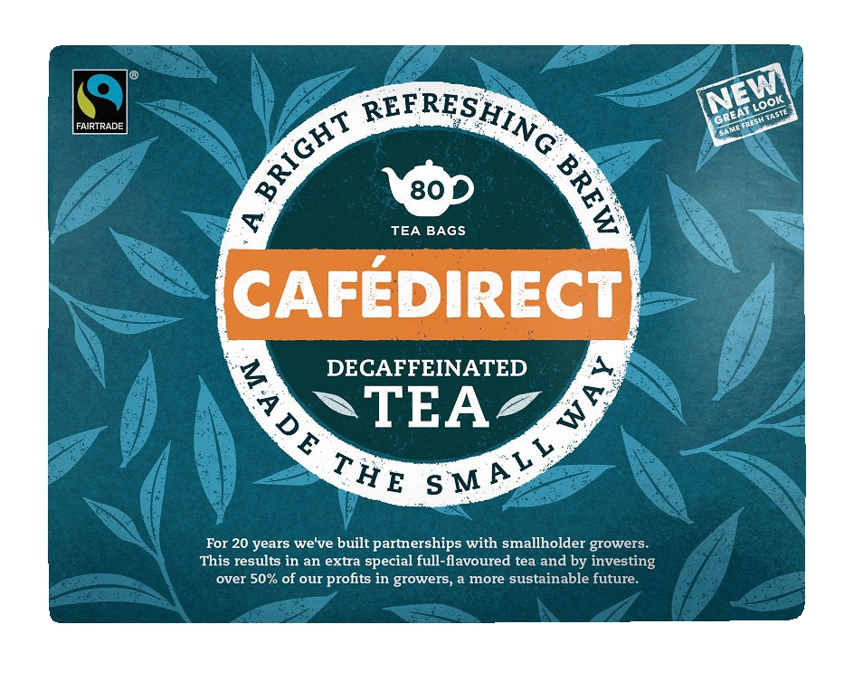 Cafe Direct Handpicked Decaffeinated Everyday Tea
