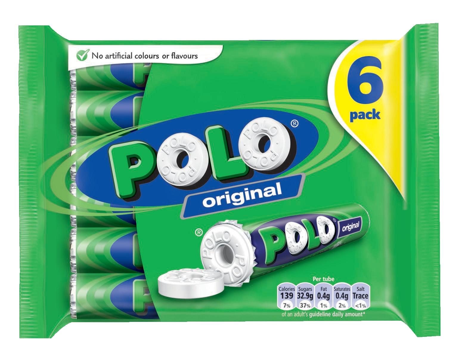 Polo Tube Pk 6