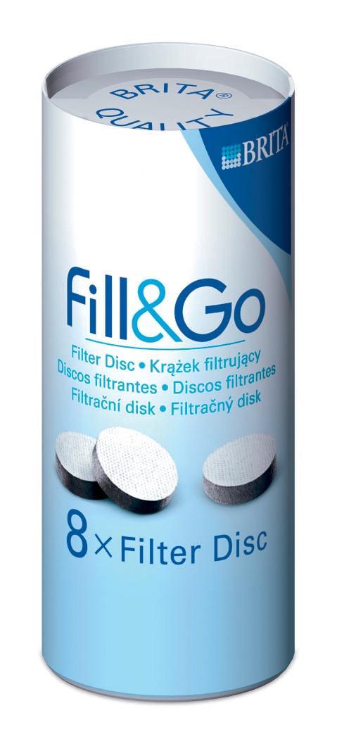 Brita Fill & Go Refills Pack 8