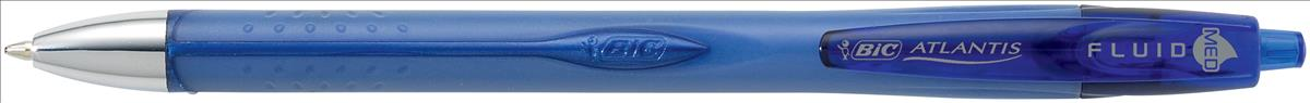 Bic Atlantis Fluid Ball Pen Blue 918495