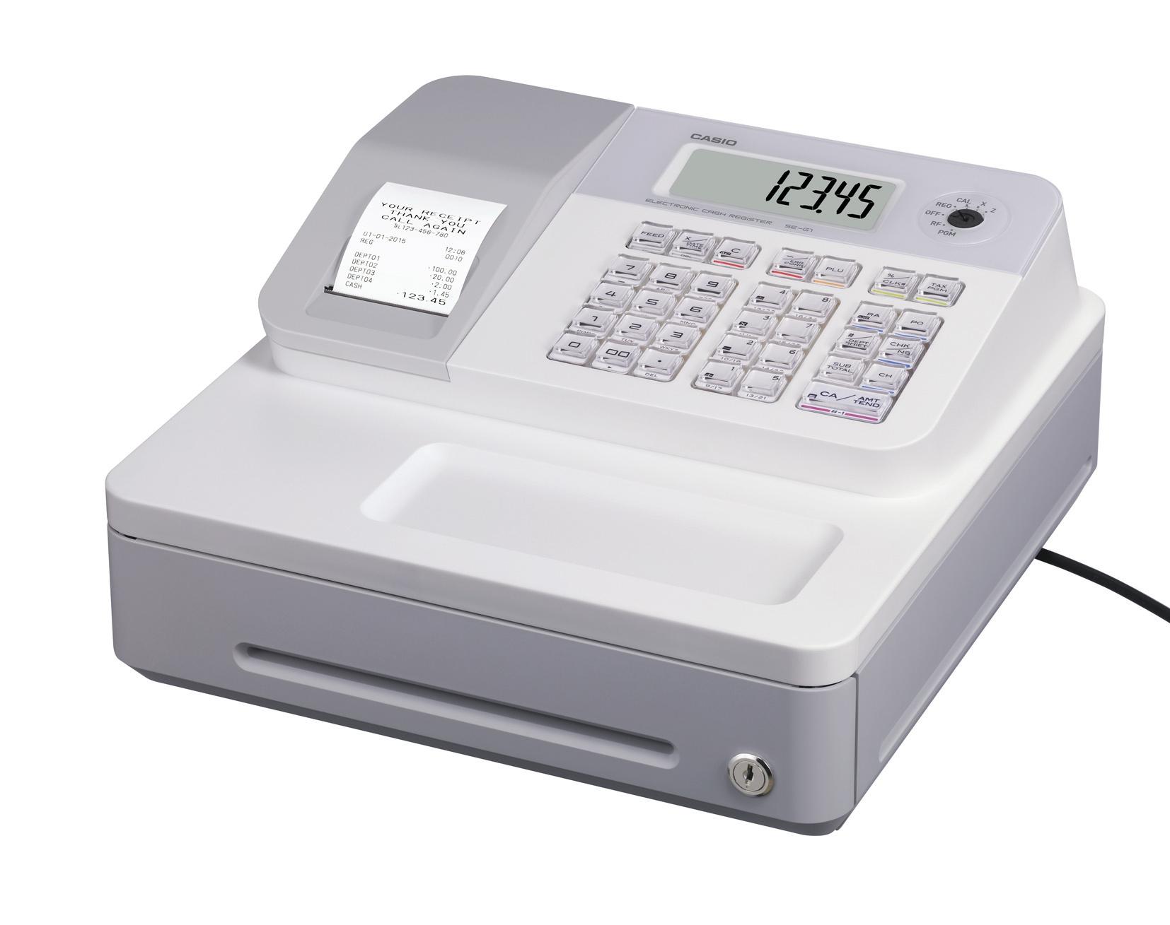 Casio SE-G1SD-WE Cash Register