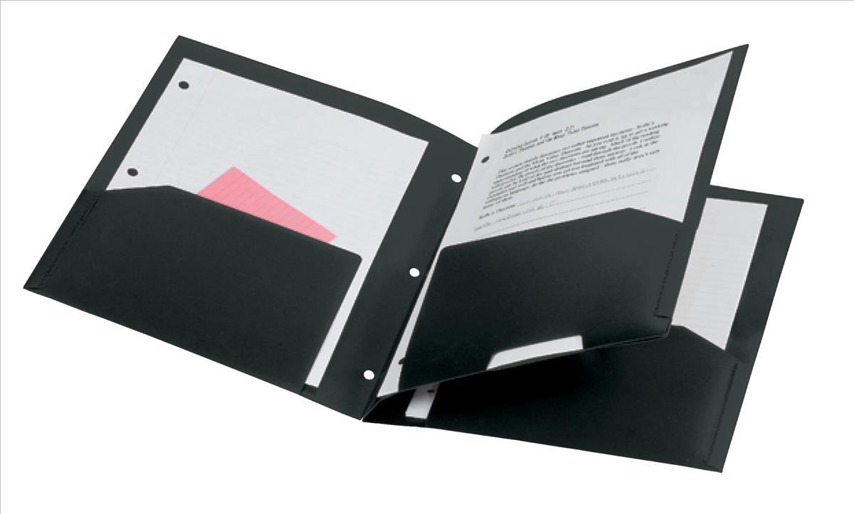 Rexel Advance 4Pocket Project File Black
