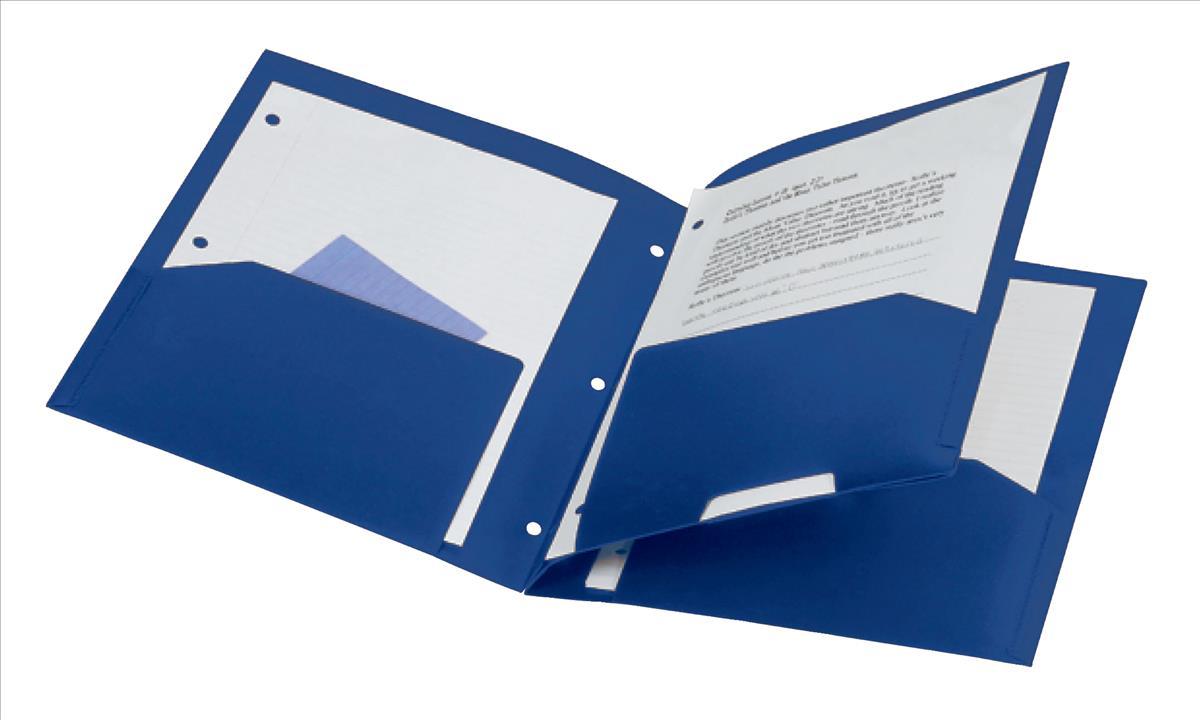Rexel Advance 4 Pocket Project File Navy
