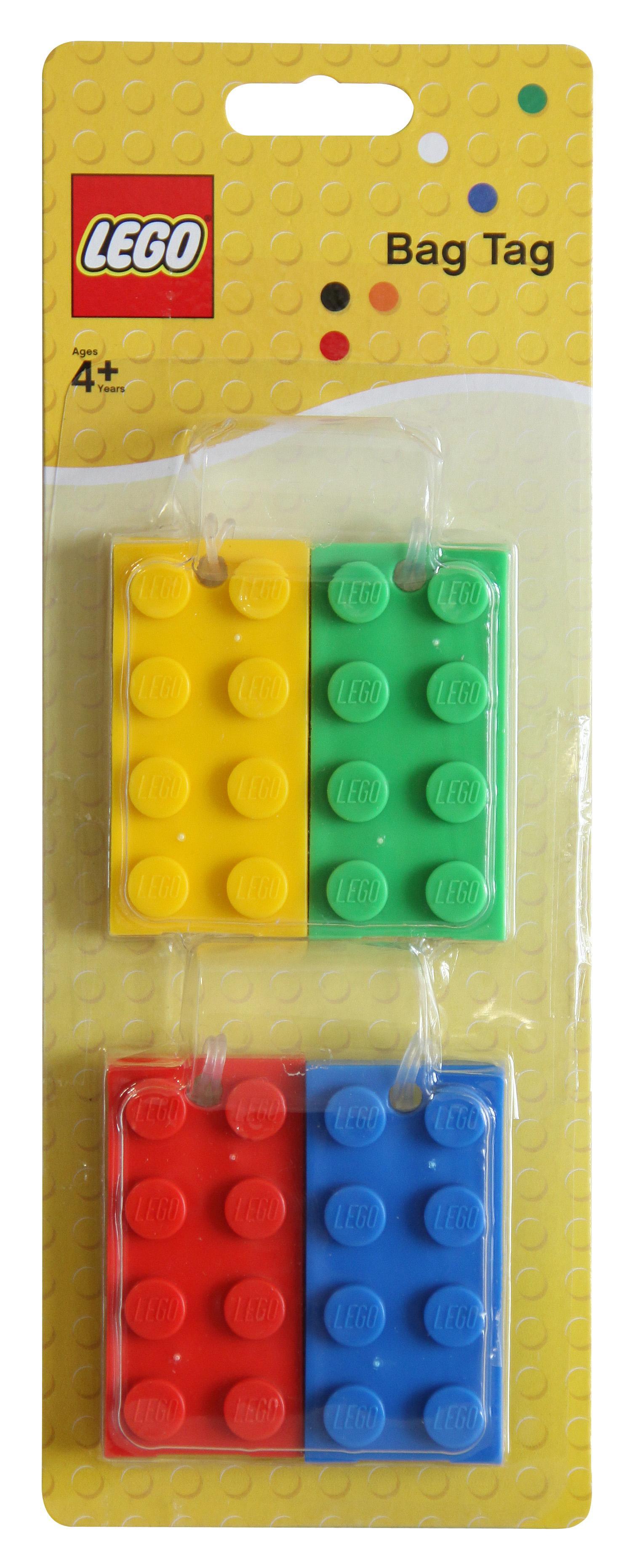 Image for Lego Bag Tag(4 Blstr) (0)