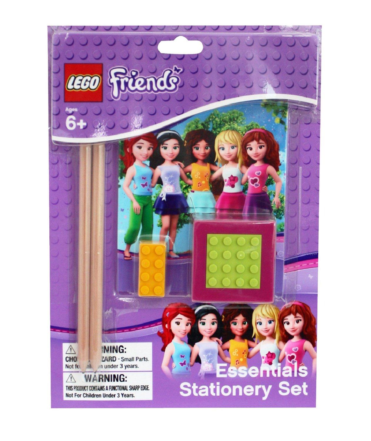 Lego Friends Essential Stationery Set