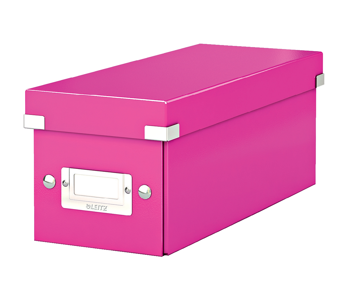 Leitz Click & Store CD Storage Box Pink
