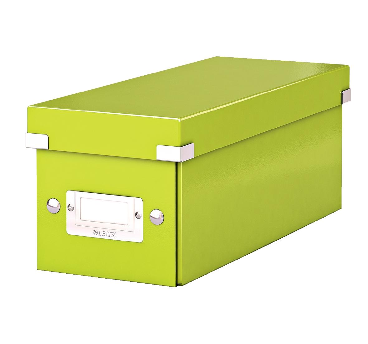 Leitz Click & Store CD Storage Box Green