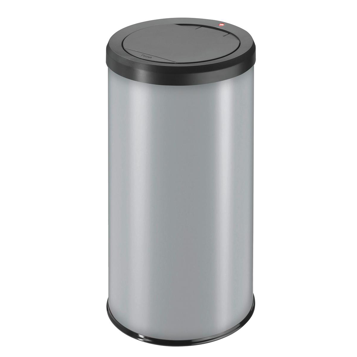 Big Bin Touch Round Stainless Steel and Coated Sheet Steel 45 Litre Silver Ref 0845-120
