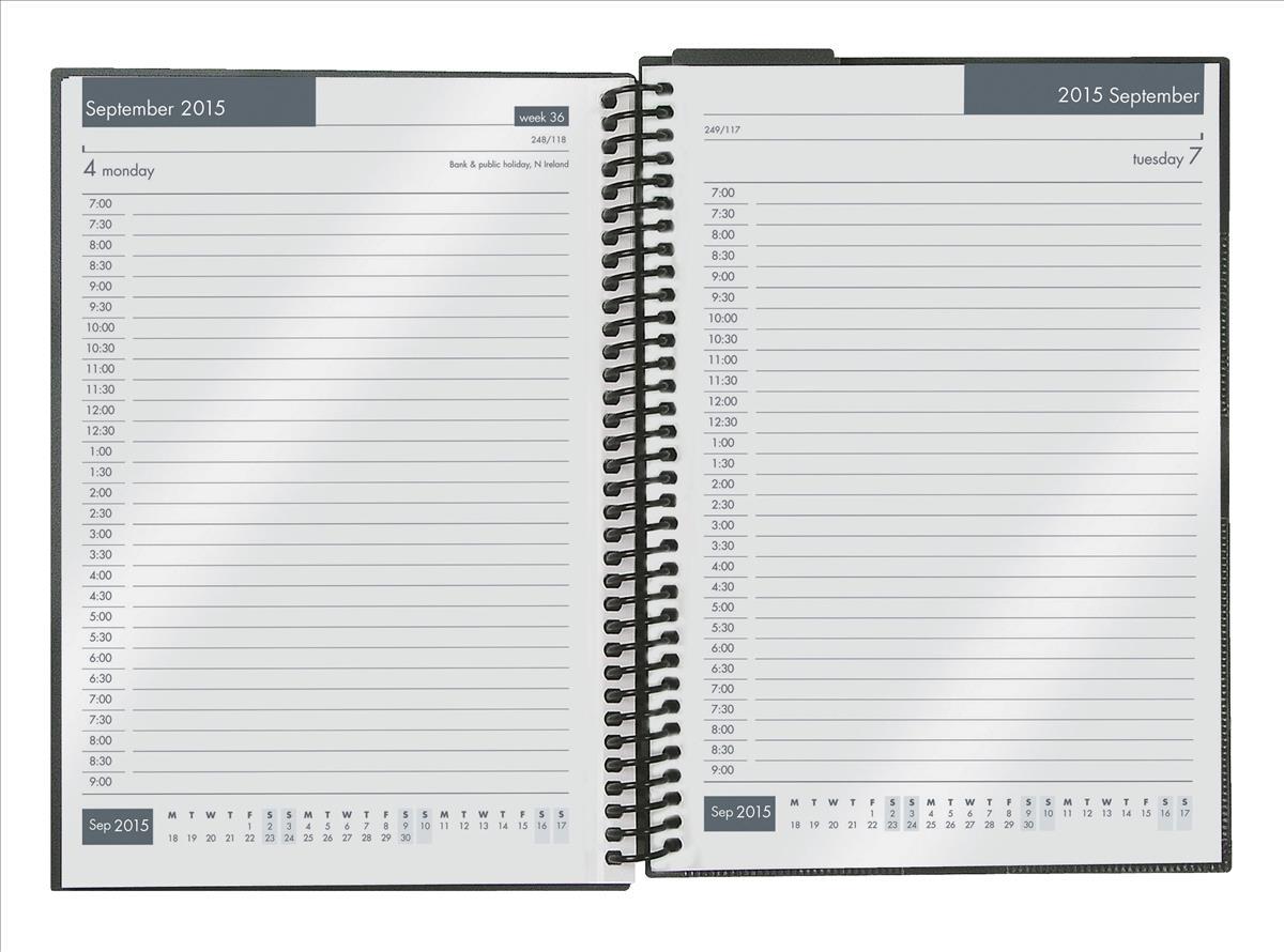 Collins 2015/16 Acad Diary A5 DTP Asst