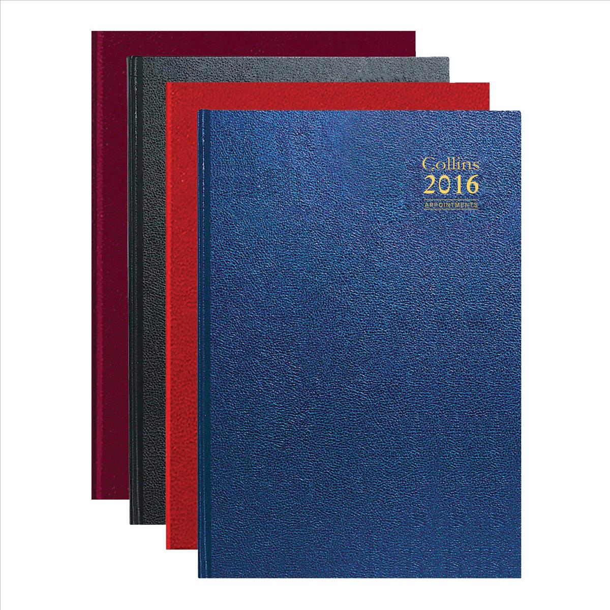 Collins 2016 A5 Day/Page Appt Diary A53